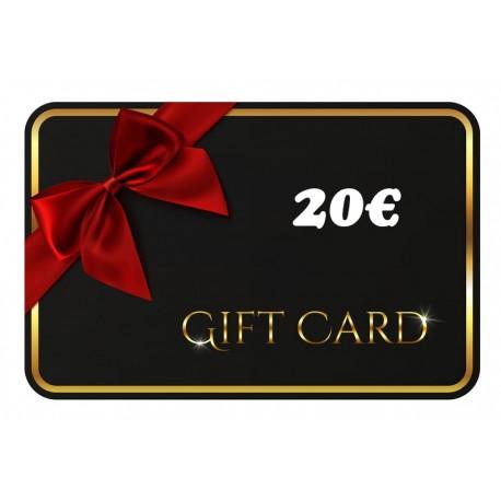 Gift Card - 20€