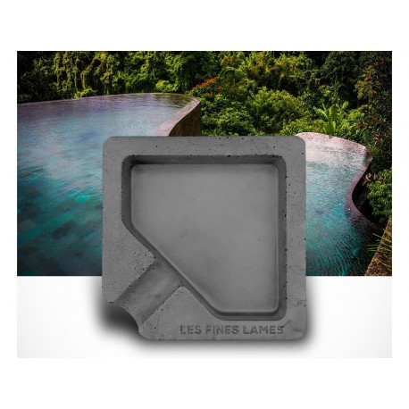 Les Fines Lames - Posacenere Monad Grey